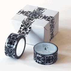 damask tape by Two's Company @ http://www.organize.com/ for $7.99!