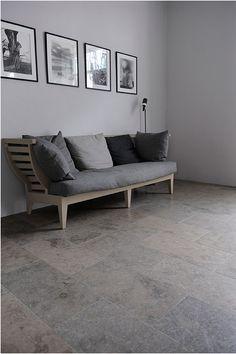 Limestone floor from Stiltje