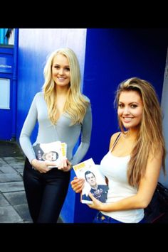 Our lovely Loftus Road girls.