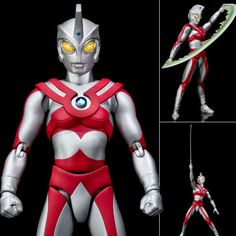 Ultra-Act Ultraman Ace Anime Action Figure Bandai Tamashii Nations Japan Now in stock! Buy it now at: stores.ebay.com.au/Figure-Central