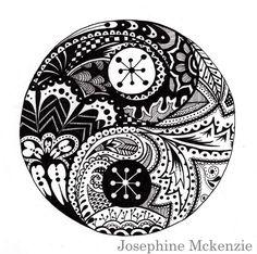 trippy flower doodles - Google Search