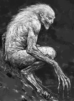 Rob Bliss - Fenrir Greyback Concept art for Harry Potter