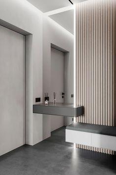 Room Design Bedroom, Home Room Design, Bathroom Interior Design, Interior Design Living Room, House Design, Hall Interior, Flur Design, Home Entrance Decor, Hallway Designs