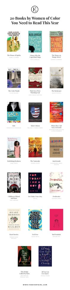In an effort to elevate those voices and introduce you to some truly kickass books, here are 20 books by Women of Color you should read in 2018.