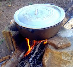 Good Ole Wood Fiyah, another method of cooking
