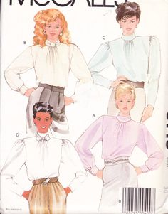 McCall's 9143 Womens Sewing Pattern Vintage by Sutlerssundries, $5.00