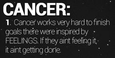 fun zodiac signs fact — 10 Facts About Cancer (Part 1)