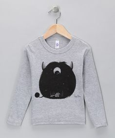 Gray Swallowed Tee from To a Tee: Kid's Apparel on #zulily