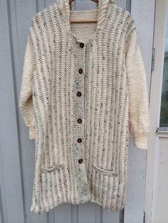 Kofta till Lovisa i bl a Järbo Molly garn. Both knitted and croched for my daughter Lovisa