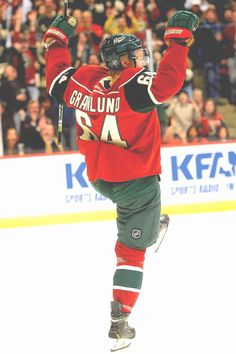 Because I feel obligated. Mikael Granlund.