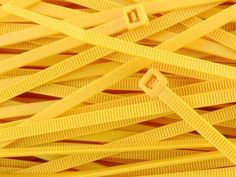 6 Inch Yellow Intermediate Nylon Zip Tie - 100 Pack by SecureTM Cable Ties. $4.70. Secure(tm) Brand Intermediate nylon cable ties are a natural choice for many applications due to their versatility and ease of installation in addition to their low price point.