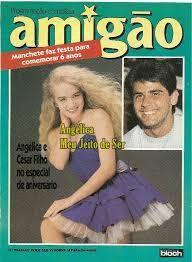 angelica : Revista Amigão com Angelica na capa