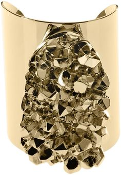 MICHAEL KORS  Gold Nugget Cuff Bracelet