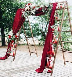 wedding ceremony arch - brides of adelaide