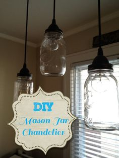Building Simple.: Mason Jar Chandelier