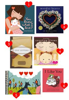 Six Books for Valentine's Day