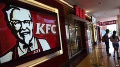 KFC owner Yum Brands suffers from slow sales in China - Source - BBC News - © 2014 BBC #KFC, #China, #Business