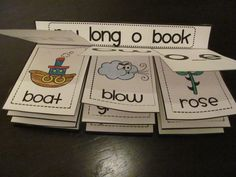 Long O book students can make to practice OA, OW, and O_E sounds!