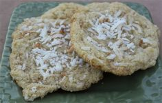 Toasted Coconut & Toffee Chip Cookie using @Bob's Red Mill  Almond Flour #glutenfree #giveaway #cookies