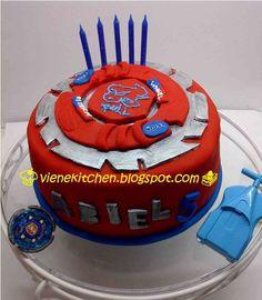 Beyblade cake idea