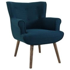 Shop a great selection of Modway Cloud Mid-Century Modern Upholstered Fabric Accent Arm Chair Azure. Find new offer and Similar products for Modway Cloud Mid-Century Modern Upholstered Fabric Accent Arm Chair Azure. Modern Chairs, Modern Furniture, Cloud Fabric, Upholstered Arm Chair, Bedroom Armchair, Mid Century Modern Armchair, Walnut Stain, Walnut Finish, Welcome Decor