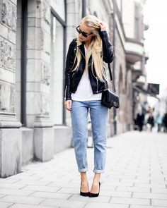 7+Stylish+Blogger+Outfits+To+Shop+Now+via+@WhoWhatWear
