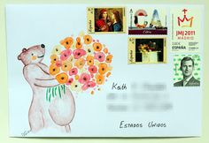 Mail Adventures #snailmail #letterwriting #mailart #creativemail