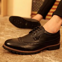 Nuevos hombres Bullok zapatos Retro zapatos de vestir formales para hombre con cordones estilo británico hombre zapatos de Oxfords 75()