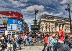 Piccadilly Circus, after a storm. For more photos, visit www.runningronin.com
