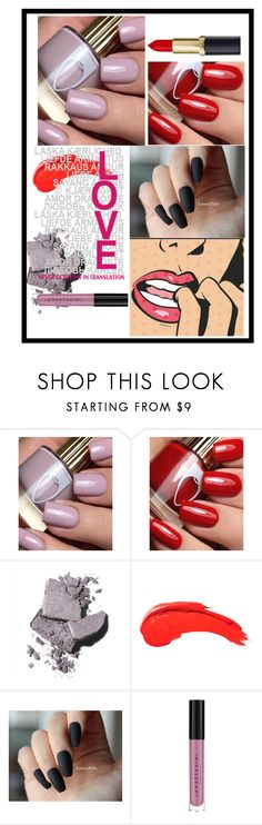 """Nail Colors 1"" by tdittamo ❤ liked on Polyvore featuring beauty, Bobbi Brown Cosmetics and Anastasia Beverly Hills"