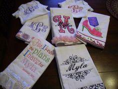 Burp cloths from O Sew Crazy