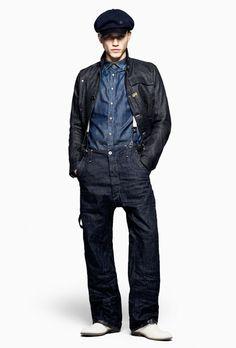 G-Star RAW 2012 Spring Mens Collection: Designer Denim Jeans
