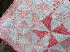pinwheel quilts | Pinwheel Baby Quilt