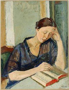 Women Reading - thomerama: Isaac Dobrinsky