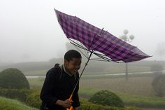 Windy day in Vietnam