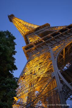 Eiffel Tower, Paris France © Brian Jannsen Photography