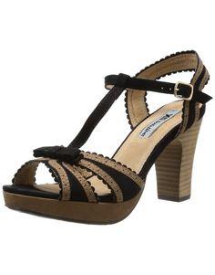 XTI 29705, Sandales femme - Noir (Black), 39 EU: Amazon.fr: Chaussures et Sacs