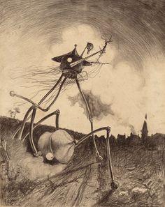 Image of HENRIQUE ALVIM CORRÊA (Brazilian, 1876-1910). Martians on | Lot #71274 | Heritage Auctions