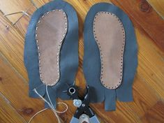 View details for the project DIY Moccasins! on BurdaStyle.