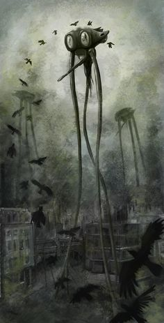 War of the Worlds tripod by scampi2202.deviantart.com