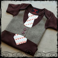 Must acquire baby boy. #babyclothes #tinysuit #onesie