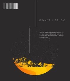 """Gravity"" Blu-ray Design Concept (2013) by HWK Sarsfield, via Behance"