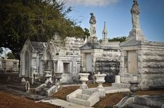 Metairie Cemetery in New Orleans