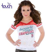 Touch pick of the day: Boston Red Sox Women's 2013 American League Champions Burnout V-Neck Vintage T-Shirt