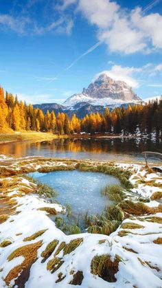 Shared by Phoenix. Find images and videos about nature, autumn and fall on We Heart It - the app to get lost in what you love. Beautiful Nature Pictures, Nature Images, Amazing Nature, Beautiful World, Beautiful Landscape Photography, Beautiful Landscapes, Nature Photography, Wonderful Places, Beautiful Places