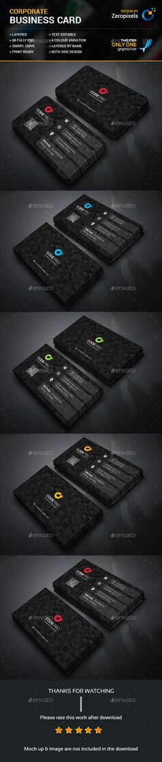 Business Card Template PSD. Download here: https://graphicriver.net/item/business-card/17207036?ref=ksioks