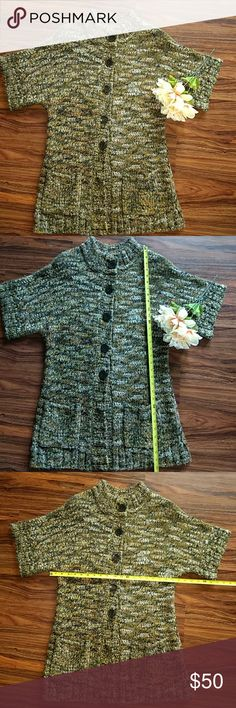 Leo & Nicole thick long sweater size xl Gorgeous large yarn long sweater size XL Leo & Nicole Sweaters