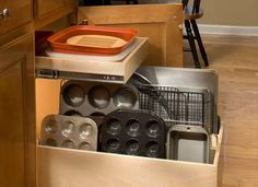 Roll Out Cabinet Drawers