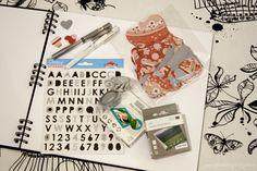 Vinn scrapbooking-sett | GaveInspirasjon Notebook, Scrapbooking, Stickers, Scrapbooks, Sticker, Decal, Memory Books, Exercise Book, Decals