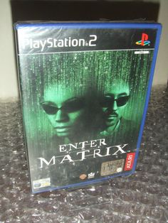 Enter The MATRIX - PS2 ps3 playstation - PAL ITA - Nuovo Sigillato